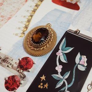 Jewelry - Vintage Smoky Quartz Pendant